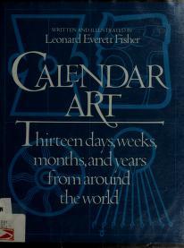 Cover of: Calendar art   Leonard Everett Fisher