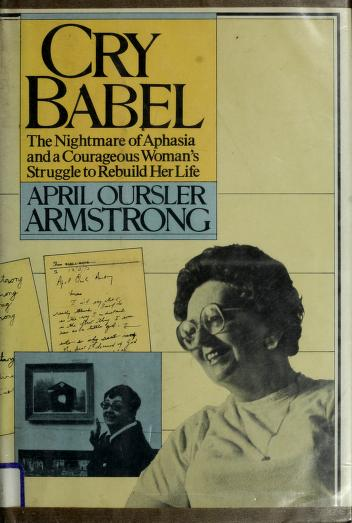 Cry Babel by April Oursler Armstrong
