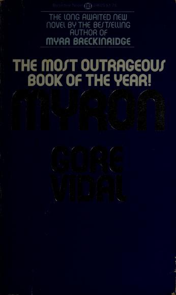 Cover of: Myron | Gore Vidal