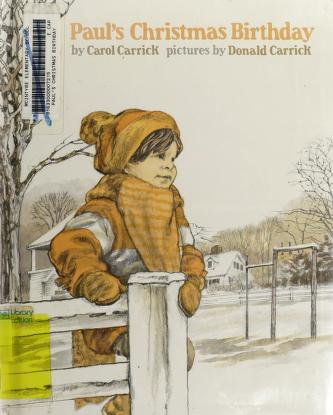 Cover of: Paul's Christmas birthday | Carol Carrick