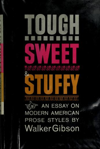 Cover of: Tough, sweet & stuffy | W. Walker Gibson